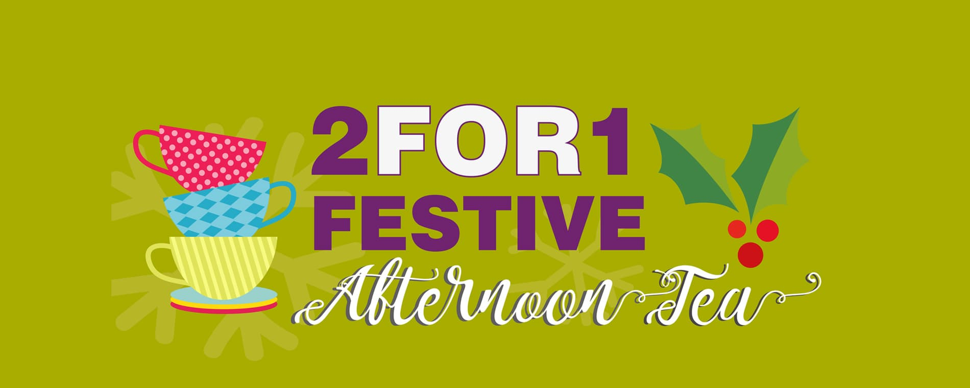 Festive Afternoon Tea Deal